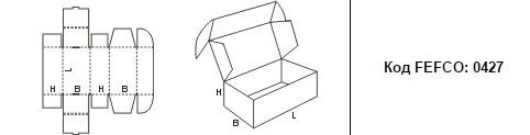 FEFCO 0427: Виды и типы картонных коробок