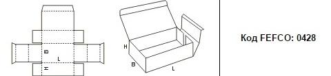 FEFCO 0428: Виды и типы картонных коробок