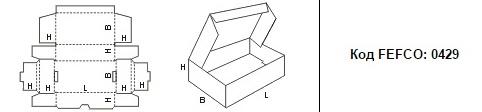 FEFCO 0429: Виды и типы картонных коробок