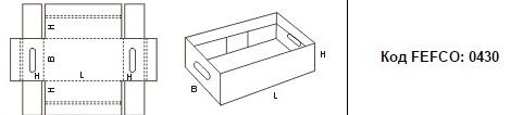FEFCO 0430: Виды и типы картонных коробок