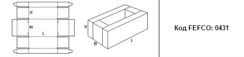 FEFCO 0431: Виды и типы картонных коробок