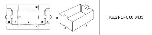 FEFCO 0435: Виды и типы картонных коробок
