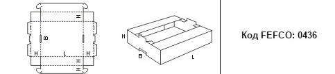 FEFCO 0436: Виды и типы картонных коробок