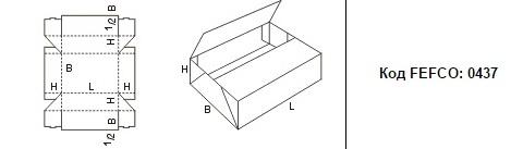FEFCO 0437: Виды и типы картонных коробок