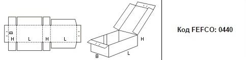FEFCO 0440: Виды и типы картонных коробок