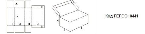 FEFCO 0441: Виды и типы картонных коробок