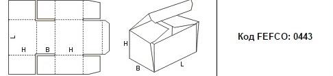 FEFCO 0443: Виды и типы картонных коробок