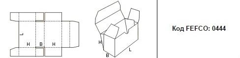 FEFCO 0444: Виды и типы картонных коробок