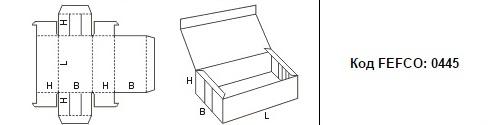 FEFCO 0445: Виды и типы картонных коробок