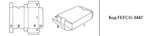 FEFCO 0447: Виды и типы картонных коробок