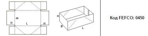FEFCO 0450: Виды и типы картонных коробок
