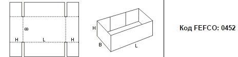 FEFCO 0452: Виды и типы картонных коробок