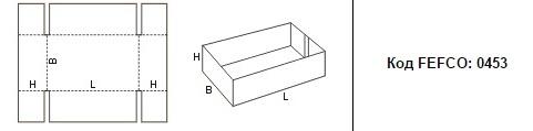FEFCO 0453: Виды и типы картонных коробок
