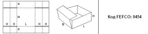 FEFCO 0454: Виды и типы картонных коробок