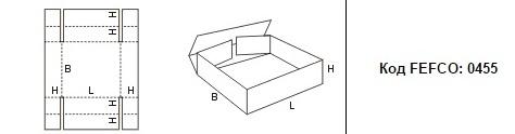 FEFCO 0455: Виды и типы картонных коробок