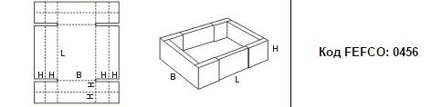 FEFCO 0456: Виды и типы картонных коробок
