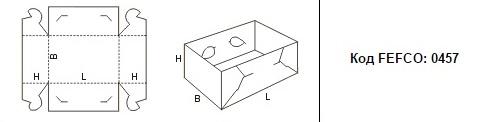 FEFCO 0457: Виды и типы картонных коробок