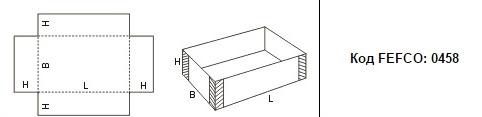 FEFCO 0458: Виды и типы картонных коробок
