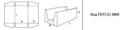 FEFCO 0460: Виды и типы картонных коробок