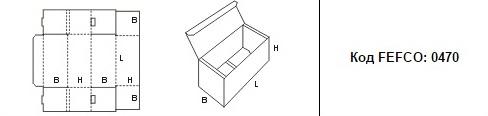 FEFCO 0470: Виды и типы картонных коробок