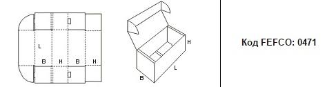 FEFCO 0471: Виды и типы картонных коробок