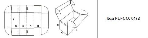 FEFCO 0472: Виды и типы картонных коробок