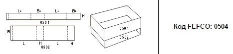 FEFCO 0504: Виды и типы картонных коробок