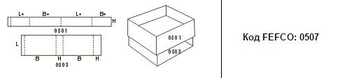 FEFCO 0507: Виды и типы картонных коробок