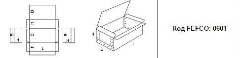 FEFCO 0601: Виды и типы картонных коробок