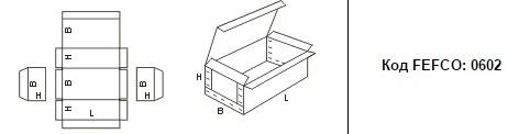 FEFCO 0602: Виды и типы картонных коробок
