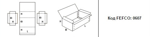 FEFCO 0607: Виды и типы картонных коробок