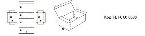 FEFCO 0608: Виды и типы картонных коробок