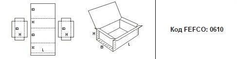FEFCO 0610: Виды и типы картонных коробок