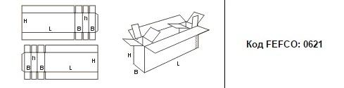 FEFCO 0621: Виды и типы картонных коробок