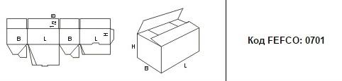 FEFCO 0701: Виды и типы картонных коробок