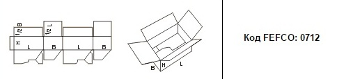 FEFCO 0712: Виды и типы картонных коробок
