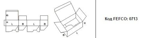FEFCO 0713: Виды и типы картонных коробок