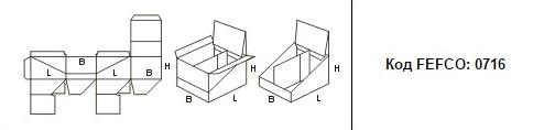 FEFCO 0716: Виды и типы картонных коробок