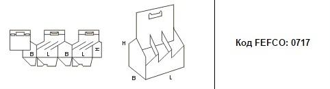FEFCO 0717: Виды и типы картонных коробок