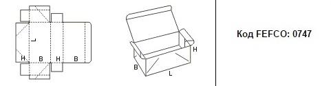FEFCO 0747: Виды и типы картонных коробок