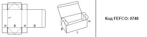 FEFCO 0748: Виды и типы картонных коробок