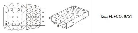 FEFCO 0751: Виды и типы картонных коробок