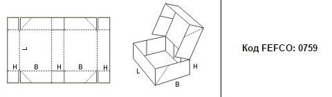 FEFCO 0759: Виды и типы картонных коробок