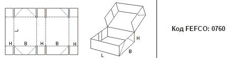 FEFCO 0760: Виды и типы картонных коробок