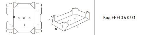 FEFCO 0771: Виды и типы картонных коробок