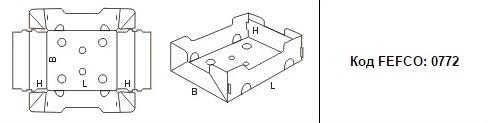 FEFCO 0772: Виды и типы картонных коробок