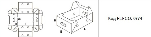 FEFCO 0774: Виды и типы картонных коробок