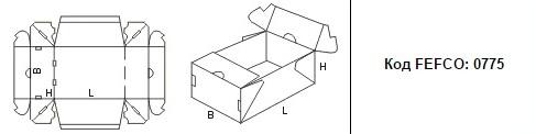FEFCO 0775: Виды и типы картонных коробок