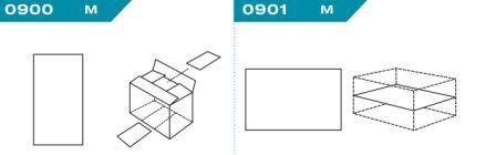 FEFCO 0900-0901: Виды и типы вставок, решеток и вкладышей для картонных коробок