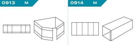FEFCO 0913-0914: Виды и типы вставок, решеток и вкладышей для картонных коробок